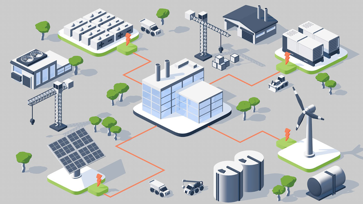 Key Microgrid Features from VECKTA