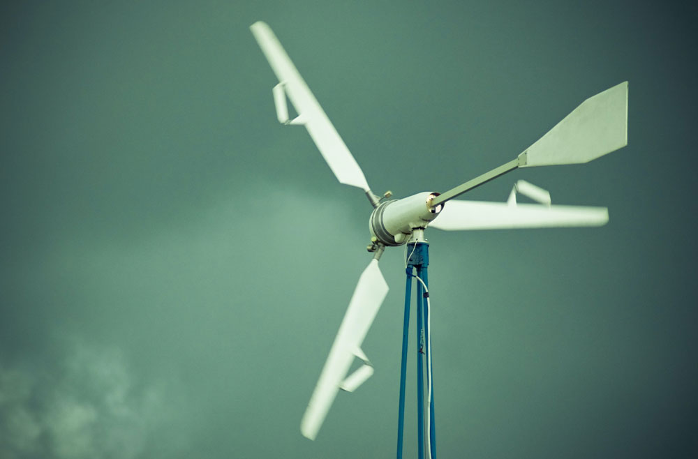 Small Wind Turbines For Microgrids