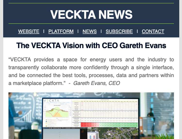 The VECKTA Newsletter