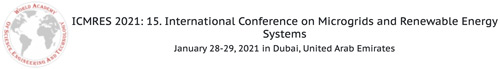 International Conference on Microgrids and Renewable Energy Systems